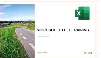 Excel training document with all the details